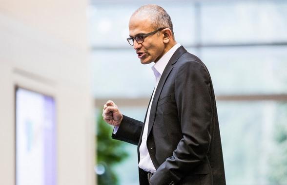 纳德拉在Ignite主题演讲:微软的三大雄心壮志 - 每日快讯 - 创业邦