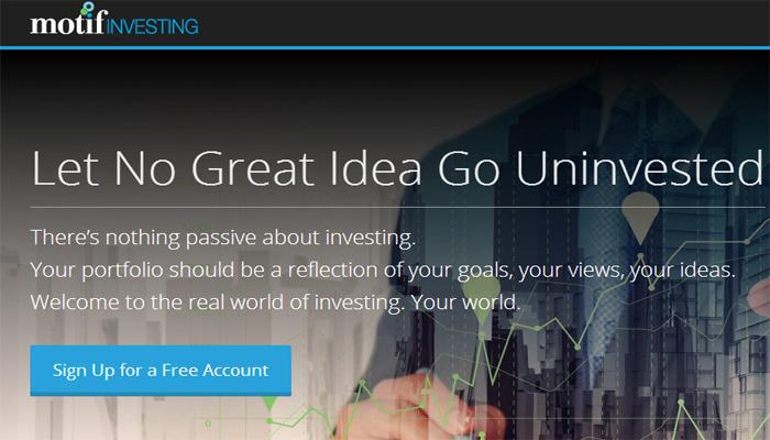 如何用Motif投资理财 - 每日快讯 - 创业邦