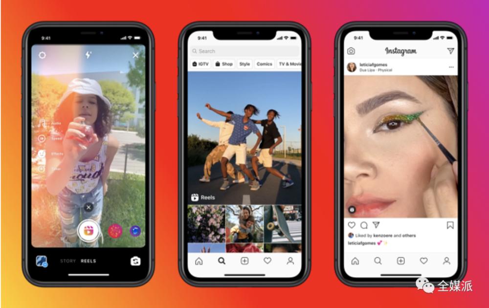 机会来了?Instagram短视频新功能对标TikTok